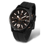 Vostok Europe Expedition 6S21-5953230-Expedition-with-Black-Silicon-strap
