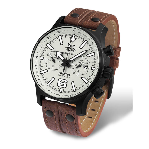 Vostok Europe Expedition 6S21-5954200 LeatherStrap