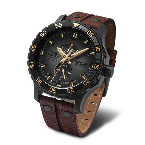 Vostok Europe Everest YN84-597D541 Leather