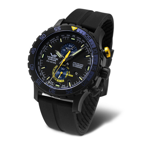 Vostok Europe Everest YM8J-597C547 Silicon
