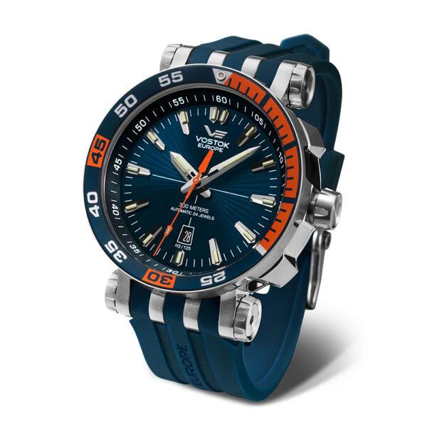 Vostok Europe Energia NH35-575A279 Blue Silicon