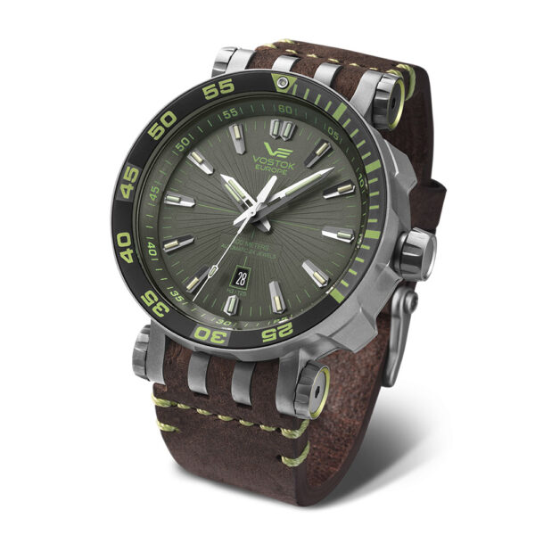 Vostok Europe Energia NH35-575H284-Energia-with-Brown-Leather-strap copy