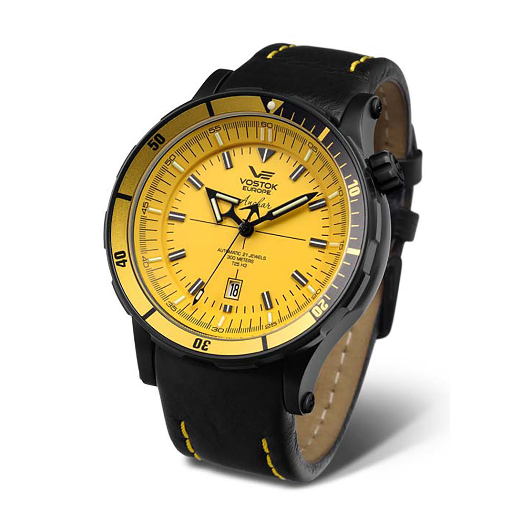 Vostok Europe Anchar NH35A-5104144 -Leather Strap