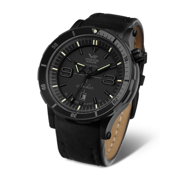 Vostok Europe Anchar NH35A-510C553 Leather Strap