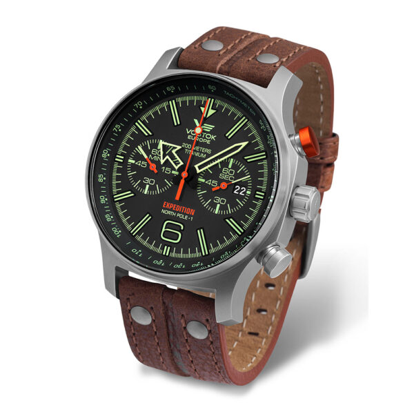 Vostok Europe Expedition 6S21-595H299-with-Leather-strap-(White-background)