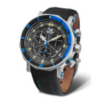 Vostok Europe Lunokhod 6S30-6205213 Brown Leather Strap