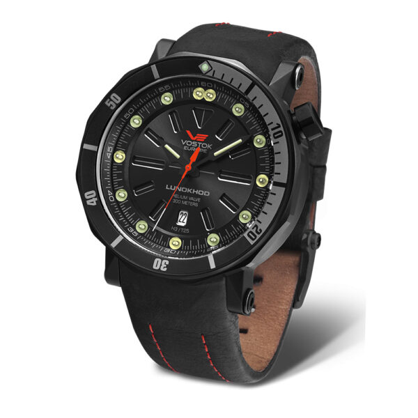 Vostok Europe Lunokhod NH35A-6204208 Leather Strap