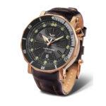 Vostok Europe Lunokhod NH35A-6209209 Brown Leather Strap